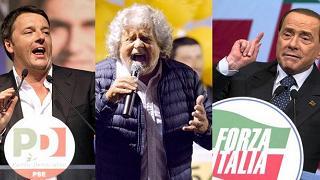 Renzi, patto con Berlusconi  e Grillo su legge elettorale