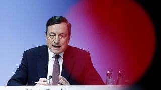 Draghi: la ripresa prosegue stabile ma con minore slancio