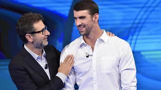 "Phelps: ""In acqua sono felice"""