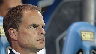 De Boer: 'Dobbiamo restare uniti'