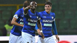 L'Udinese passa a Palermo