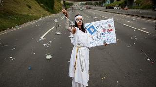 Venezuela, è sciopero generale contro il presidente Maduro