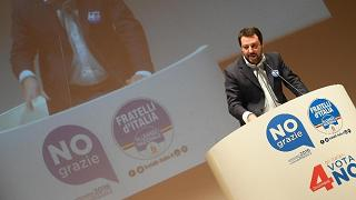 """Referendum, Salvini: """"Voto 'No' contro il pensiero unico e la precarizzazione di tutto"""""""