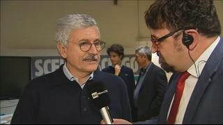 D'Alema: no a elezioni anticipate senza la legge elettorale