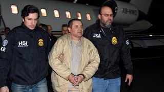 """""""El Chapo"""" Guzman estradato negli  Stati Uniti: rischia la pena di morte"""