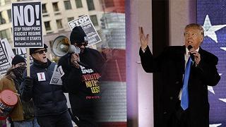 """Oggi Trump diventa presidente A Washington: """"Inizia la resistenza"""""""