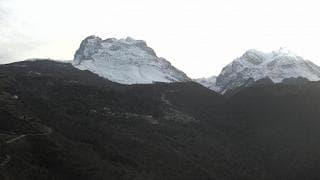 """Allarme del sindaco di Campotosto """"In atto una frana sul Monte Corno"""""""