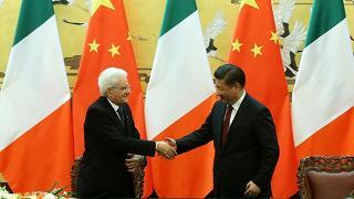 Mattarella a Xi: più Cina in Italia e più Italia in Cina