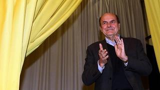 Bersani: il regista  della disgregazione è Renzi