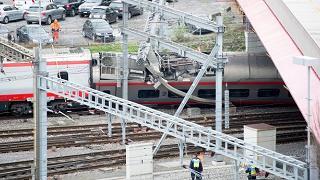 Deraglia treno Milano-Basilea a Lucerna, sette feriti lievi