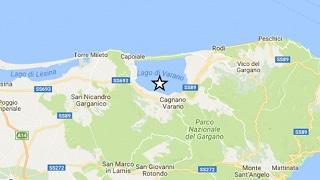 Terremoti: scossa di magnitudo 4.0 in provincia Foggia