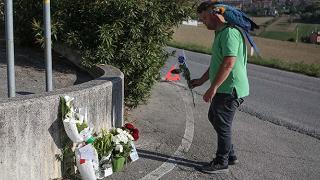 I funerali di Scarponi martedì a Filottrano, l'omaggio della 'Liegi'