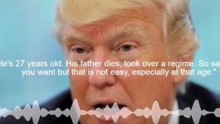 """Donald Trump: """"Con la Corea del Nord guerra possibile"""""""