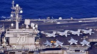 Terza portaerei Usa in Corea Nord deterrente per test missilistici