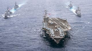 Venti di guerra, la portaerei americana Carl Vinson si avvicina