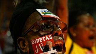 """Esplode la protesta contro Temer   """"Deve dimettersi, è corrotto"""""""