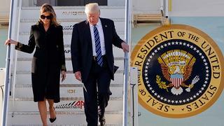 Trump è arrivato a Roma: Capitale blindata, tre aree di sicurezza