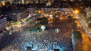 Sinistra israeliana in piazza per la pace con i palestinesi