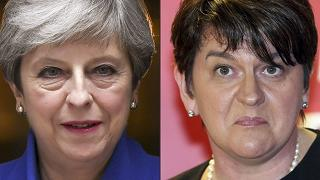 May sigla accordo di Governo  con gli unionisti nordirlandesi