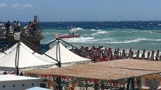 Maltempo: mareggiata a Savona, un morto