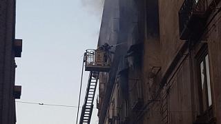 Cosenza, incendio in appartamento del centro. Tre vittime accertate