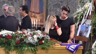 Scandicci, i funerali di Niccolò Ciatti il giovane morto a Lloret de Mar