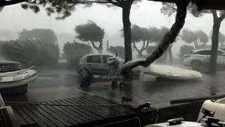 Grandine e forte vento in Veneto Coldiretti: pazza estate, 2mld danni