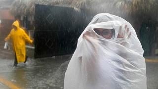 La furia di Maria si abbatte sulle coste della Repubblica Dominicana