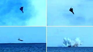 Terracina: precipita in mare un caccia Eurofighter, morto il pilota