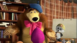 Masha e orso game over video raiplay