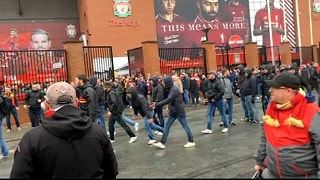 E' in coma il tifoso del Liverpool Arrestati due ultras romanisti