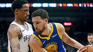 San Antonio supera Golden State