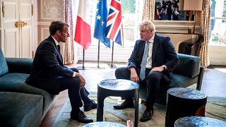 "Brexit, Macron come Merkel:  ""Ora tocca a Boris Johnson"""