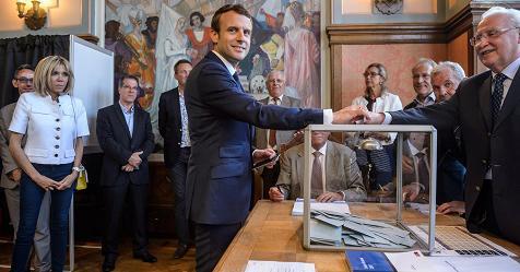 Exit poll Francia, trionfa Macron con oltre il 32% – Rai News