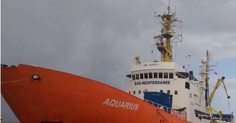 """Migranti, Salvini scrive alla Valletta: """"Nave Aquarius approdi a Malta, non in Italia"""" – Rai News"""