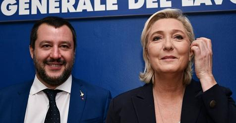 Salvini: i nemici dell'Europa sono gli Juncker e i Moscovici. Le Pen: restituire potere ai popoli – Rai News