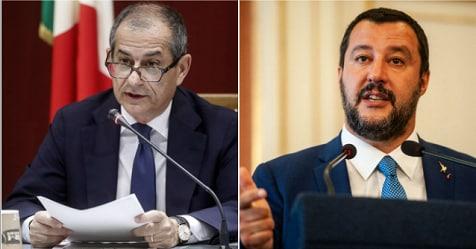 Def, Tria e Salvini precisano: nessun caos sui numeri della flat tax – Rai News