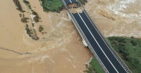 Maltempo in Sardegna, crolla ponte sulla statale 195. Scuole e strade chiuse – Rai News