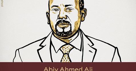 Nobel per la pace al premier etiope Abiy Ahmed Ali