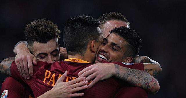 Crolla l'Inter, Roma e Milan secondi