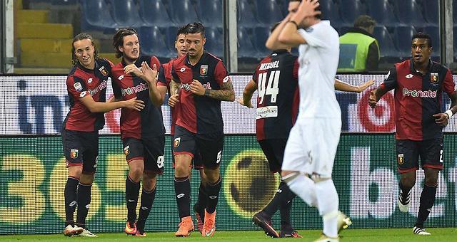 Il Milan crolla a Marassi