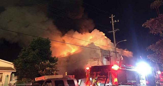 Oakland, incendio al rave party almeno 9 morti e 25 dispersi