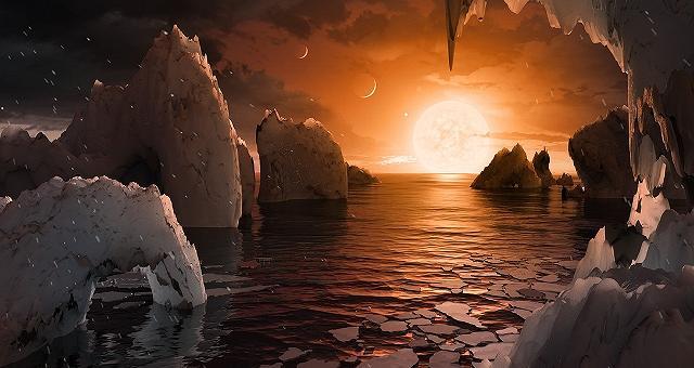 Nasa: scoperto sistema solare  con 7 pianeti simili alla Terra