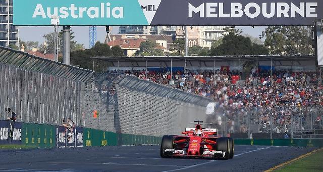 La Ferrari torna a vincere Imprendibile Vettel in Australia