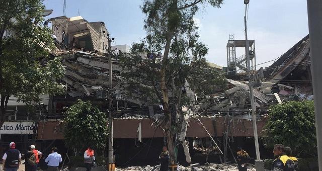 Sisma di magnitudo 7.1 in Messico Crolli e vittime anche nella capitale