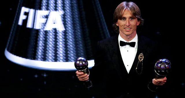 E' Modric il Fifa best player 2018