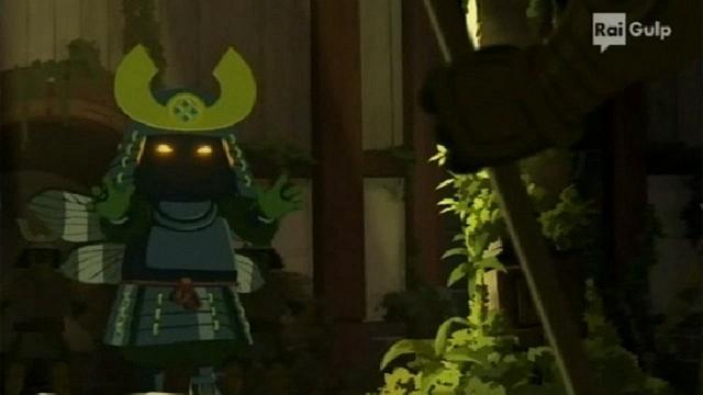 Rai Gulp Mini Ninjas - S1E9 - L'armatura di Kuro Zawa
