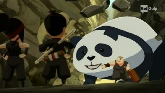 Rai Gulp Mini Ninjas - S1E8 - Il Pandakuji