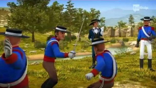 Rai Gulp Zorro - La leggenda - S1E5 - La gara di scherma