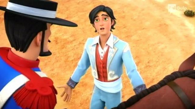 Rai Gulp Zorro - La leggenda - S1E10 - Il paladino dei Peones
